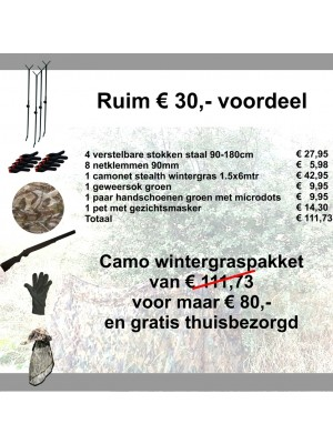 Camo Winterpakket