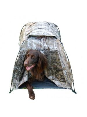 Hondencamouflagehut pop-up Max4
