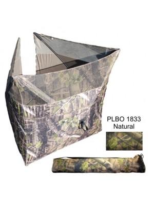 Camouflagevouwscherm natural groen 125x125cm