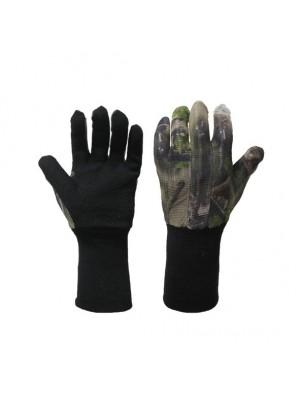 Handschoen met meshstof natural blind touchscreen functie op duim en wijsvinger maat S/L