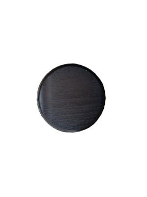 Keilerplank D14x1,8cm zwart