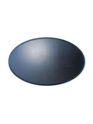 Geweiplank Ovaal 40x25cm 1.8cm  zwart